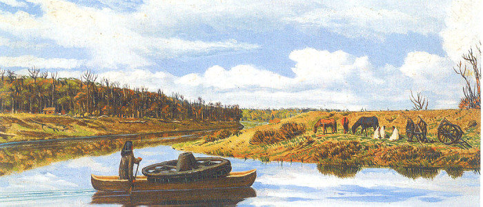 River Scene in Manitoba