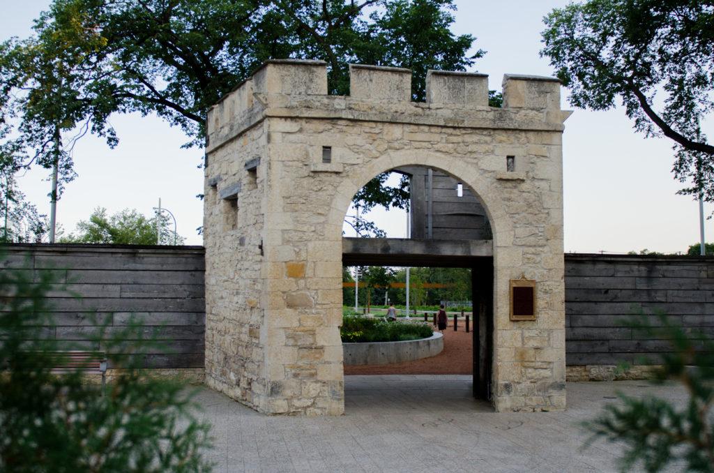 Upper Fort Garry Provincial Park Gate Entrance